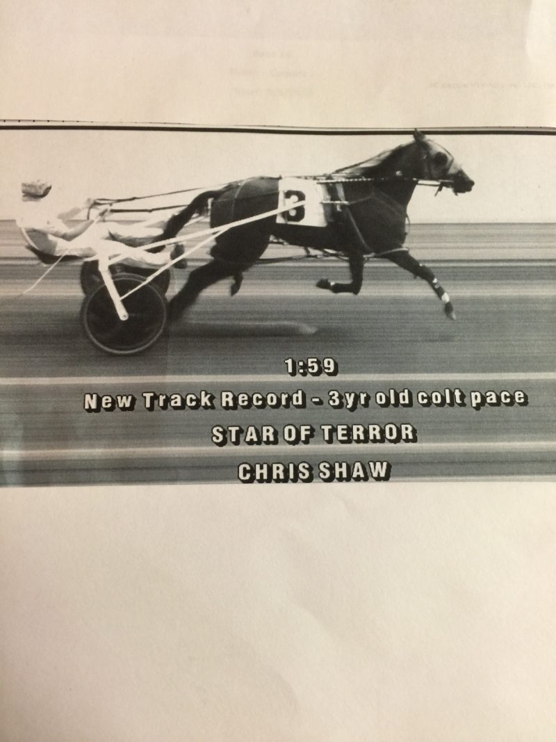 Prince Penrod's Photo Win, Star of Terror's Record 1:59 Mile Give Chris Shaw a Second Buster DiSalvo Driving Trophy