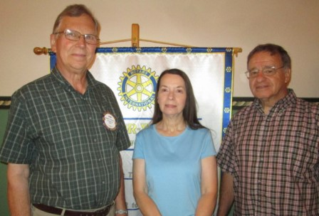 Rotary Hears Update on Super 322 Drive-in