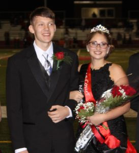 2016 Clearfield Homecoming Queen: Emma Potter