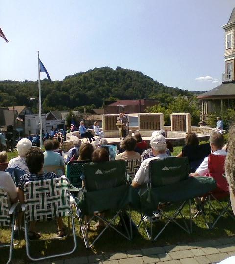 New World War II Memorial Dedicated in Curwensville
