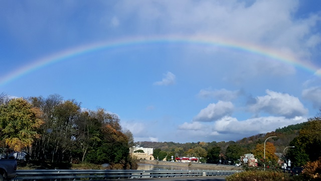 READER PHOTO: Rainbow over Clearfield