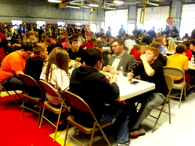 PHOTOS: Students Have Q&A Lunch with Local Professionals