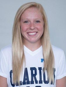 Clearfield grad Carlee Freeberg is now a junior at Clarion University (Photo courtesy Clarion Athletics)