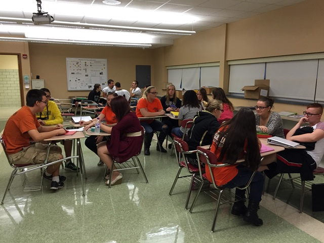 Curwensville High School Driver's Ed Students are learning driving safety tips. (Provided photo)