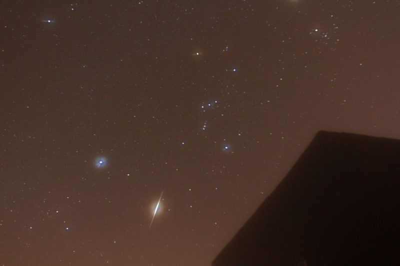 Tonight is a great time to see the Orionid meteor shower