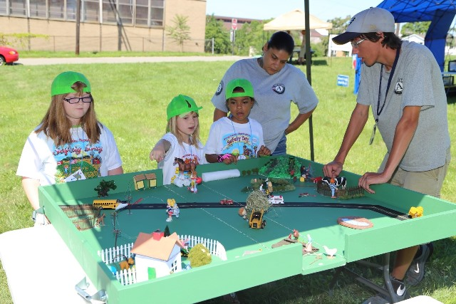 At Progressive Agriculture Safety Days® like this event in Hermitage, Pa., various toys are used in a safe manner to demonstrate hidden hazards that can be found around the home, ranch or farm. (Provided photo)