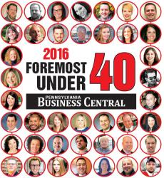 Swales Honored as Pennsylvania Business Central's Foremost Under 40