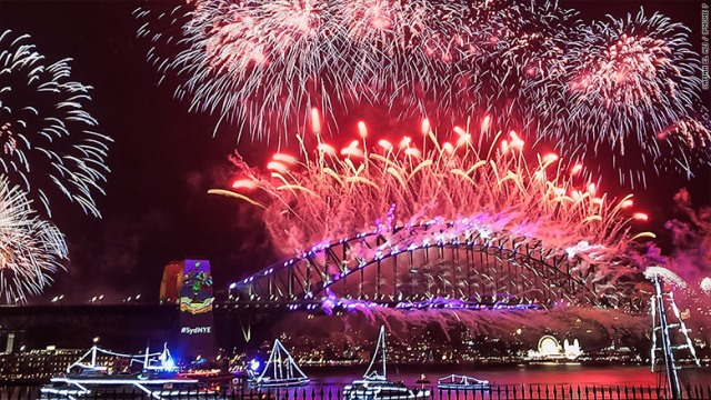 What New Year's Eve celebrations look like around the world