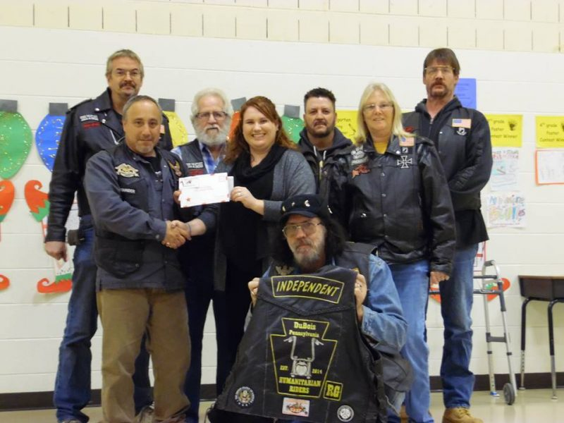DuBois Humanitarian Riders Give to Big Brothers Big Sisters