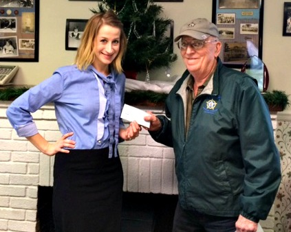 Big Brothers Big Sisters Receives Donation