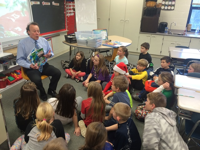 Local Author Visits Glendale Elementary