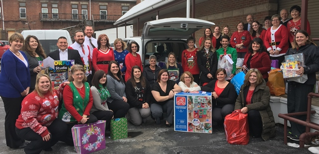CNB Fulfills Christmas Wishes through Salvation Army's Treasures for Children Program