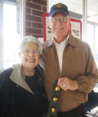 Clearfield Rotary Rings the Bell for Salvation Army