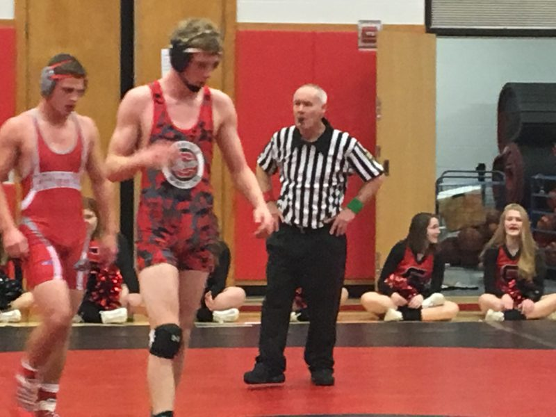 Bison Wrestlers Pick Up First Win of Young Season