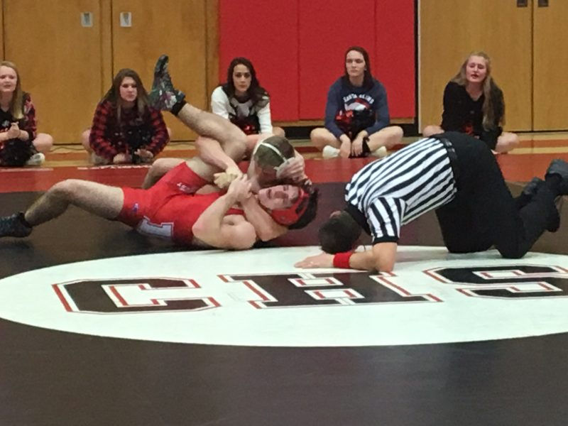 Clearfield Grapplers Get to .500 On Season
