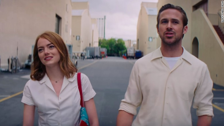 'La La Land' hits high note with 14 Oscar nominations