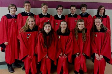 12 DuBois High Students Participate at District 3 Chorus Festival