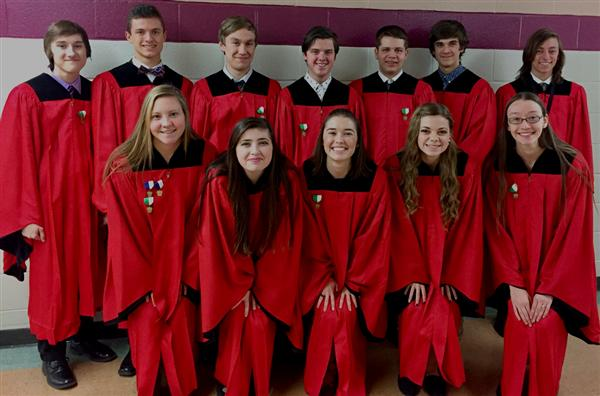 12 DuBois High Students Participate at District 3 Chorus Festival