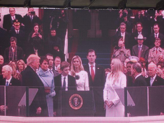 GANT News Correspondent Attends Inauguration