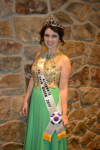 Rachel Duke Named 2017 Pennsylvania State Fair Queen Alternate