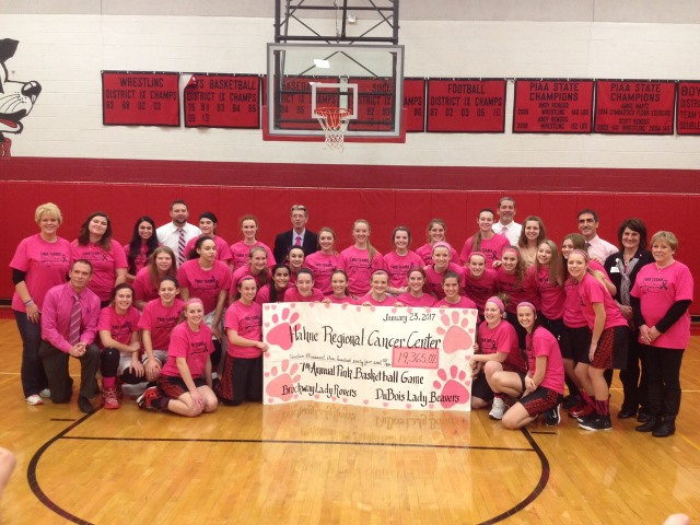 """Pink Game"" Raises $19,365 for Cancer Center"