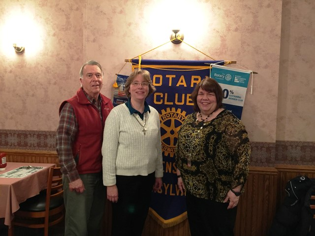 Curwensville Rotary Learns About Services at Rural Free Clinic