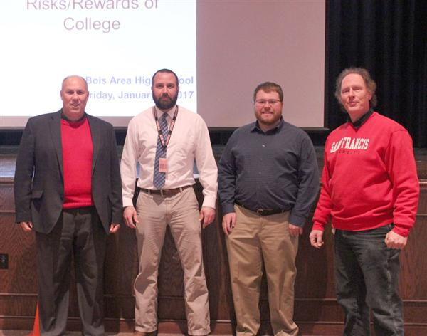 DuBois Students Learn About Rewards of College