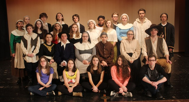 DuBois Students to Present The Crucible
