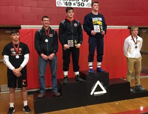 Luke McGonigal's third trip to the medal stand at Tool City