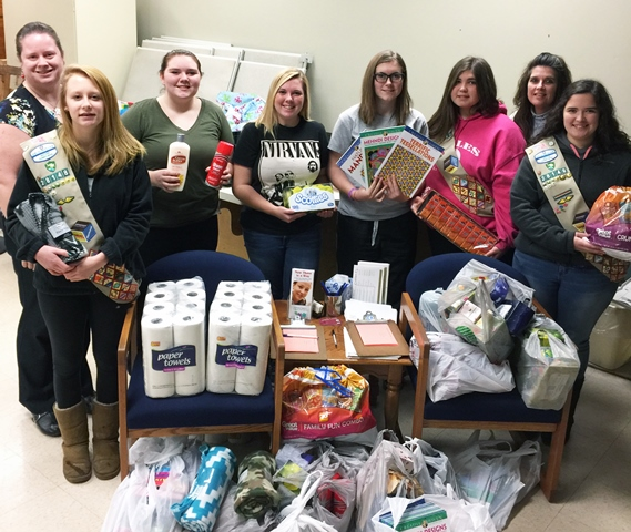 Local Girl Scout Troop Donates to Giving Tree