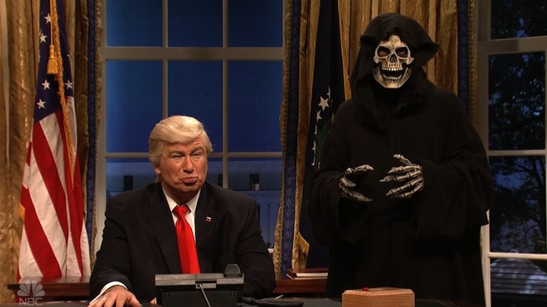 'SNL': Trump and Bannon call world leaders