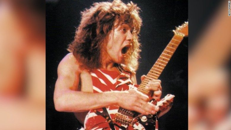 Rock legend Eddie Van Halen helps bring music back to schools