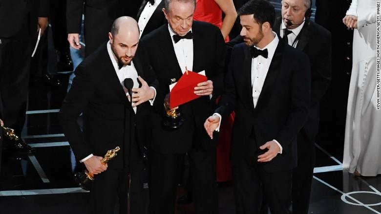 It was 'Moonlight,' not 'La La Land': A timeline of a historic Oscars blunder