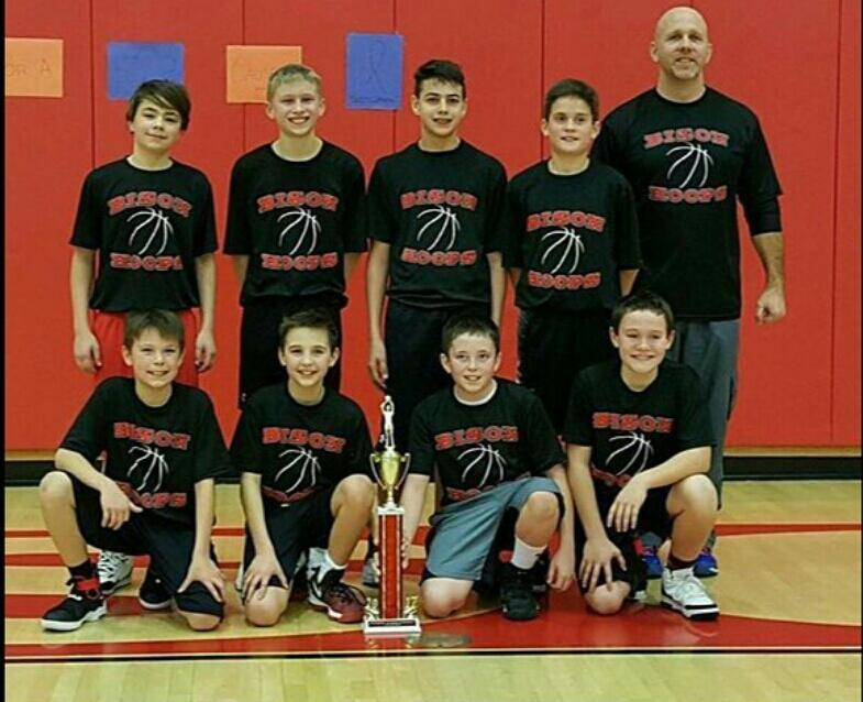 Clearfield Wins 6th Grade Bison Hoops Tourney