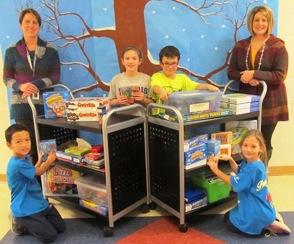 Baltimore Life Charitable Grant Provides Local School with New Math Carts