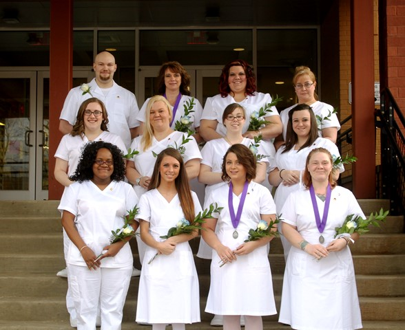 12 Students Graduate from CCCTC's Nursing Program
