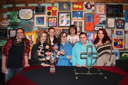 Jeff Tech Students Showcase Artwork