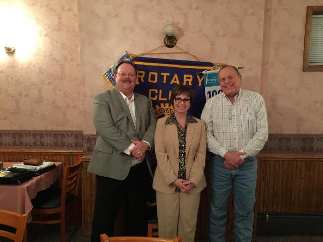 Curwensville Rotary Hears from Reps from Continental Carbonic, PGP