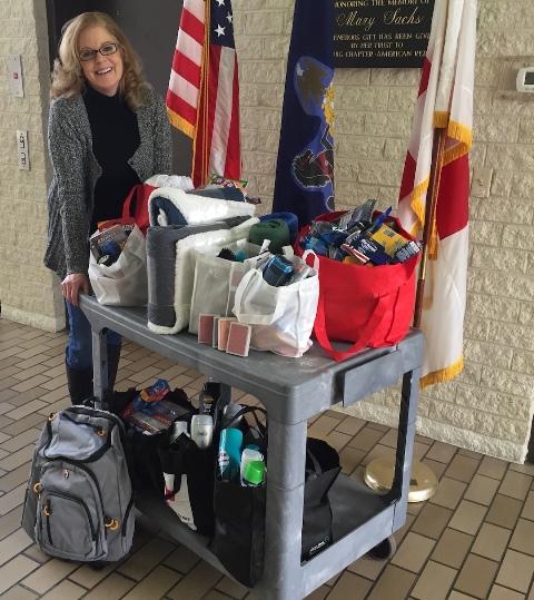 Help Fill Totes of Hope for Homeless Veterans