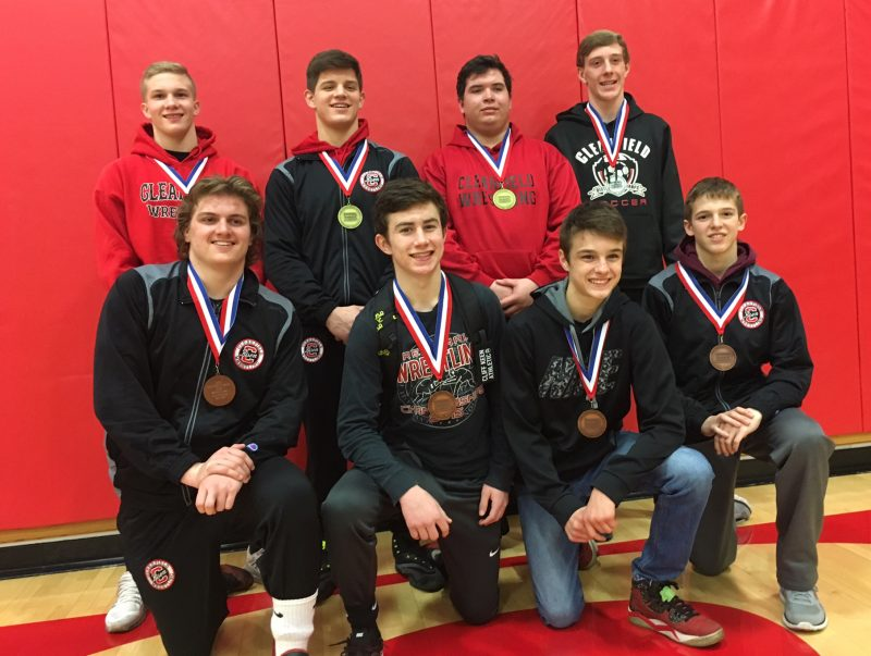 Bison Crown Two Champions at District 4-9 wrestling as Eight Advance to Regionals