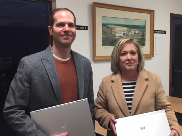 United Way Receives Donation of Laptops