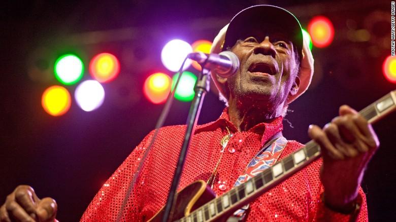 Chuck Berry, rock 'n' roll pioneer, dead at 90