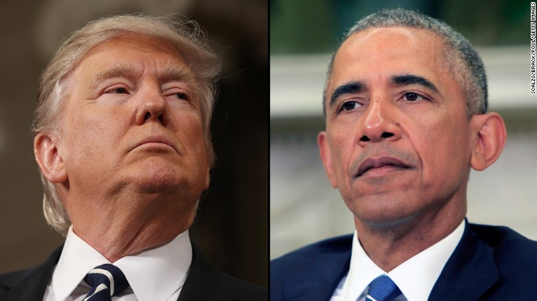 With no proof, Trump says Obama wiretapped him