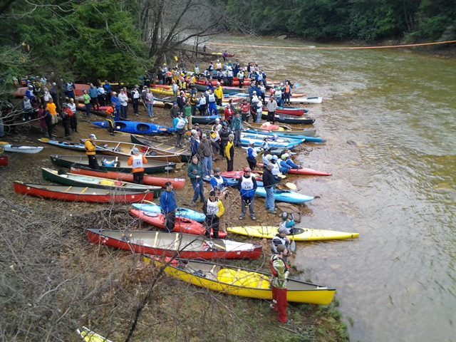 Red Moshannon Down River Race is March 25