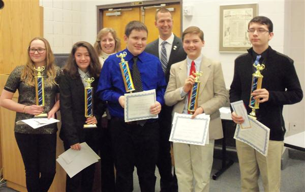 DuBois Academic Challenge Team Takes Second Place