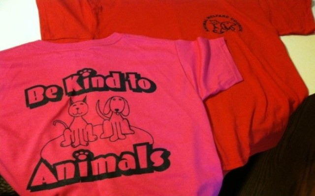 "AWC to Hold 5th Annual T-shirt Design Contest for ""Be Kind to Animals"" Week"