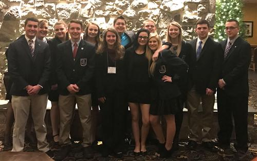 DuBois Students Perform Well at State DECA Competition
