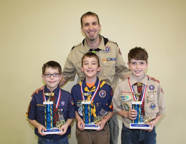 Pack 2 Cub Scouts Hold Derby