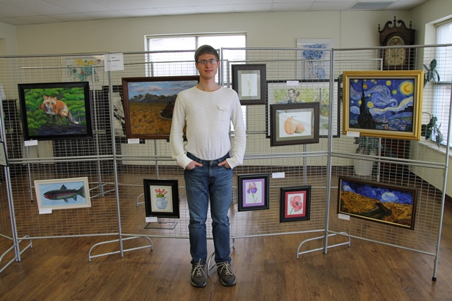 Zitzelberger's New Art Collection Displayed at Shaw Library