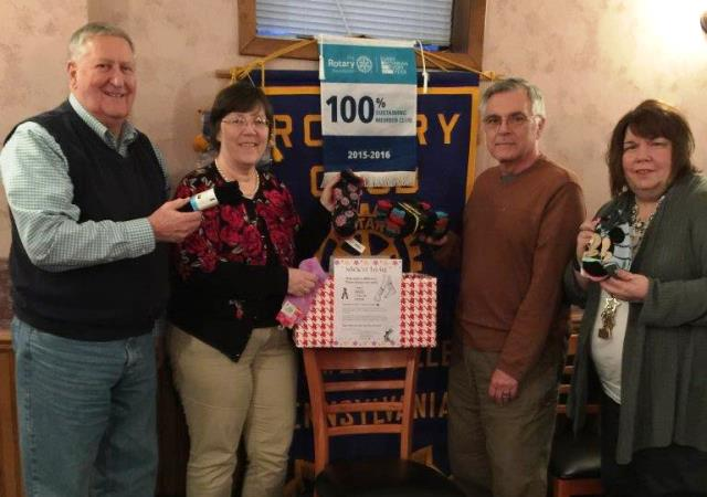 """Curwensville Rotary Learns About """"Sock it to Me"""" Program"""
